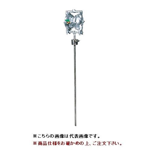 【直送品】 ヤマダ ダイアフラムポンプ ドラムタイプ DP-10BAT-D (852920)