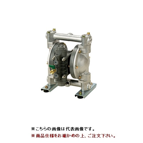 【直送品】 ヤマダ 高耐食ダイアフラムポンプ NDP-P20BSC (854066)