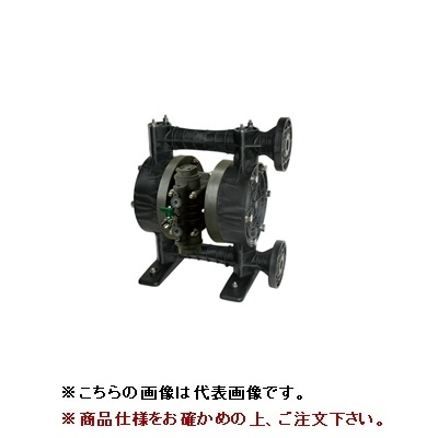 【直送品】 ヤマダ 高耐食ダイアフラムポンプ NDP-P25BVV-FL (854202)