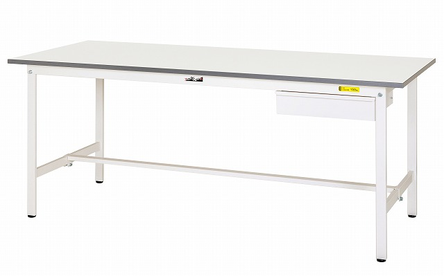 【直送品】 山金工業 ワークテーブル SUP-1260U-WW 【法人向け、個人宅配送不可】 【大型】