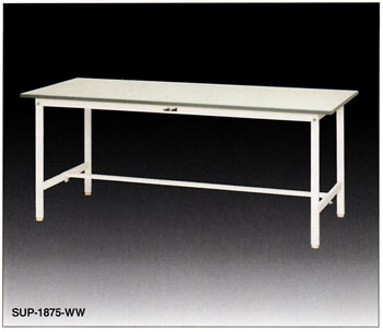 【直送品】 山金工業 ワークテーブル SUP-945-WW 【法人向け、個人宅配送不可】 【大型】