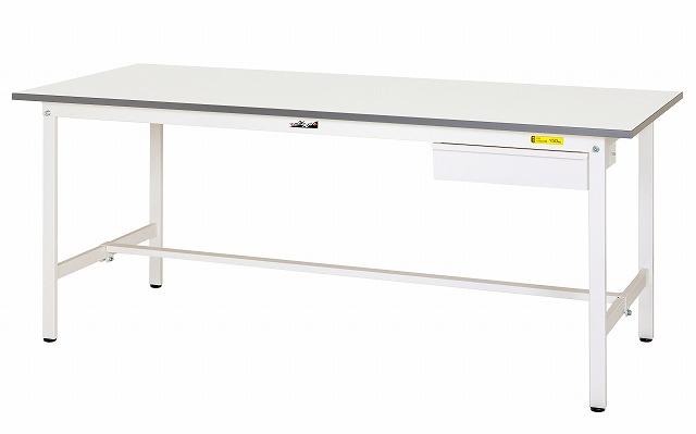 【直送品】 山金工業 ワークテーブル SUP-960U-WW 【法人向け、個人宅配送不可】 【大型】