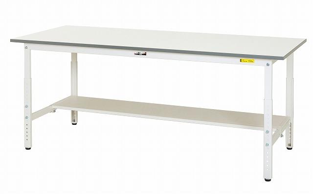 【直送品】 山金工業 ワークテーブル SUPA-1260T-WW 【法人向け、個人宅配送不可】 【大型】