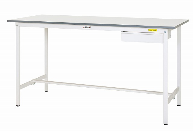 【直送品】 山金工業 ワークテーブル SUPH-1260U-WW 【法人向け、個人宅配送不可】 【大型】