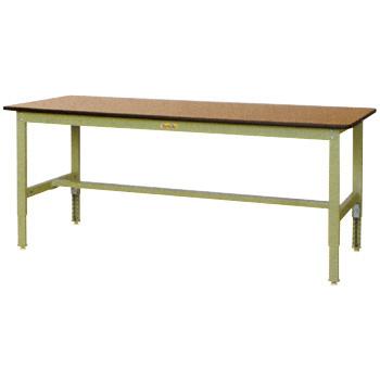 【直送品】 山金工業 ワークテーブル SWPAH-1275-MG 【法人向け、個人宅配送不可】 【大型】