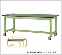 【直送品】 山金工業 ワークテーブル SVRC-1560-GI 【法人向け、個人宅配送不可】 【大型】