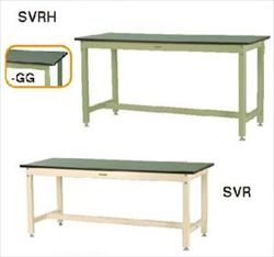 【直送品】 山金工業 ワークテーブル SVRH-1575-GG 【法人向け、個人宅配送不可】 【大型】