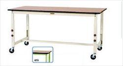 【直送品】 山金工業 ワークテーブル SWPAC-1275-MG 【法人向け、個人宅配送不可】 【大型】