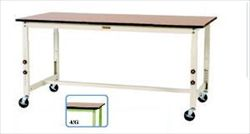 【直送品】 山金工業 ワークテーブル SWPAC-1560-MG 【法人向け、個人宅配送不可】 【大型】