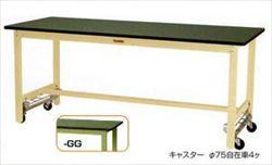 【直送品】 山金工業 ヤマテック ワークテーブル SWRU-1275-GG 【法人向け、個人宅配送不可】