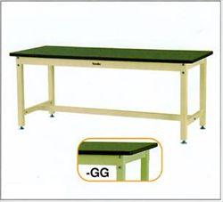 【直送品】 山金工業 ワークテーブル SZRV-1275-GG 【法人向け、個人宅配送不可】 【大型】