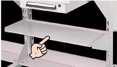 【直送品】 山金工業 ヤマテック 棚板 HD-12 【法人向け、個人宅配送不可】