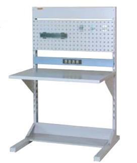 【直送品】 山金工業 ヤマテック ラインテーブル 間口900サイズ 基本タイプ 片面用 HRK-0913-PC 【法人向け、個人宅配送不可】