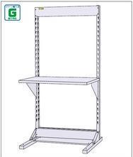 【直送品】 山金工業 ラインテーブル 基本形 W900×H1885サイズ 片面 単体 HRK-0918 【法人向け、個人宅配送不可】 【大型】