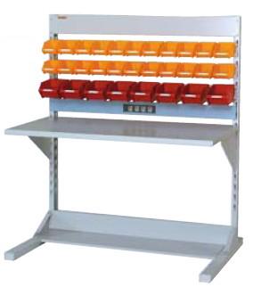 【直送品】 山金工業 ラインテーブル 間口1200サイズ 基本タイプ 片面用 HRK-1213-YC 【法人向け、個人宅配送不可】 【大型】
