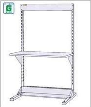 【直送品】 山金工業 ラインテーブル 基本形 W1200×H1885サイズ 片面 単体 HRK-1218 【法人向け、個人宅配送不可】 【大型】