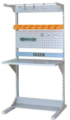 【直送品】 山金工業 ラインテーブル 間口900サイズ 基本タイプ 両面用 HRR-0918-FPYC 【法人向け、個人宅配送不可】 【大型】