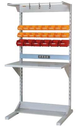 【直送品】 山金工業 ラインテーブル 間口900サイズ 基本タイプ 両面用 HRR-0918-FYC 【法人向け、個人宅配送不可】 【大型】