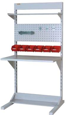 【直送品】 山金工業 ラインテーブル 間口900サイズ 基本タイプ 両面用 HRR-0918-TPY 【法人向け、個人宅配送不可】 【大型】