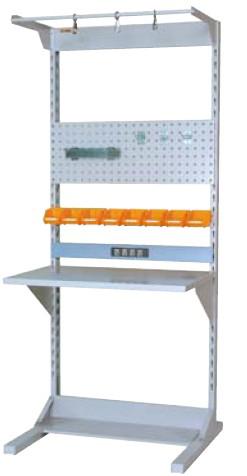 【直送品】 山金工業 ラインテーブル 間口900サイズ 基本タイプ 両面用 HRR-0921-FPYC 【法人向け、個人宅配送不可】 【大型】