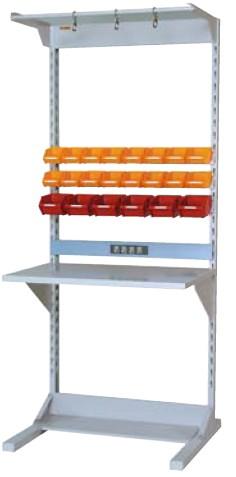【直送品】 山金工業 ラインテーブル 間口900サイズ 基本タイプ 両面用 HRR-0921-FYC 【法人向け、個人宅配送不可】 【大型】