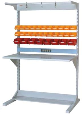 【直送品】 山金工業 ラインテーブル 間口1200サイズ 両面・連結用 HRR-1218R-FYC 【法人向け、個人宅配送不可】 【大型】