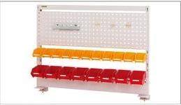 【直送品】 山金工業 パーツハンガー 卓上タイプ W1200×H870タイプ HTK-1290-PY 【法人向け、個人宅配送不可】 【大型】