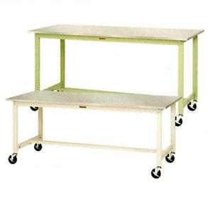 【代引不可】 山金工業 ヤマテック ワークテーブル SWS3HC-960-SI 【法人向け、個人宅配送不可】 【メーカー直送品】