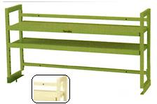 【直送品】 山金工業 ワークテーブル架台 WK2-1800-IV 【法人向け、個人宅配送不可】 【大型】