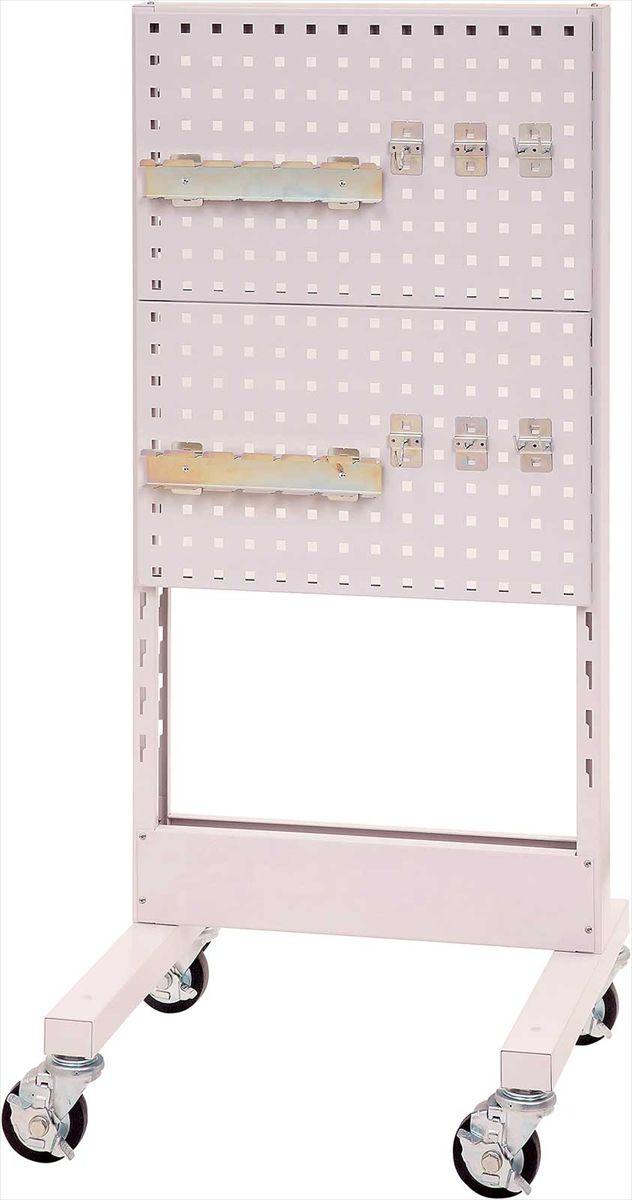 【直送品】 山金工業 パーツハンガー 間口600サイズ 移動式 片面用 HPK-0613C-P 【法人向け、個人宅配送不可】 【大型】