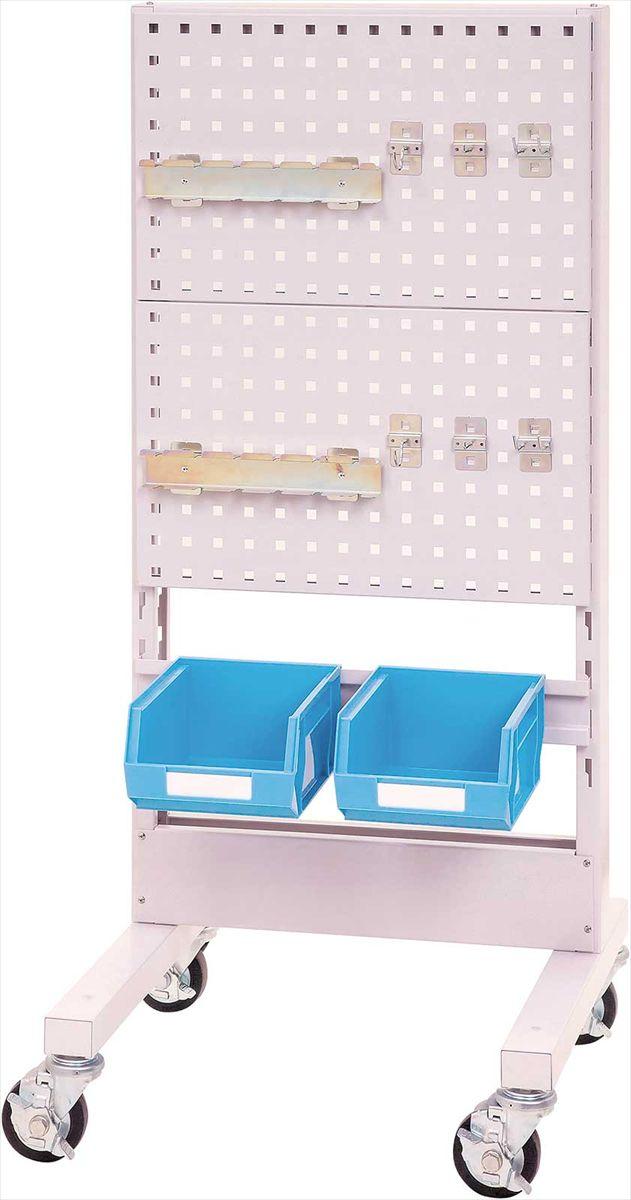 【直送品】 山金工業 パーツハンガー 間口600サイズ 移動式 片面用 HPK-0613C-PD 【法人向け、個人宅配送不可】 【大型】