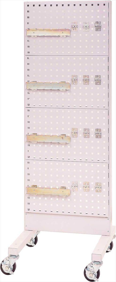【代引不可】 山金工業 ヤマテック パーツハンガー 間口600サイズ 移動式 片面用 HPK-0618C-P4 【法人向け、個人宅配送不可】 【メーカー直送品】