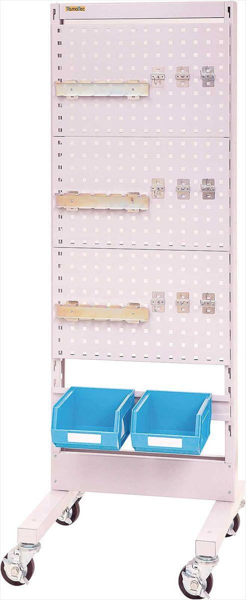 【代引不可】 山金工業 ヤマテック パーツハンガー 間口600サイズ 移動式 片面用 HPK-0618C-PD 【法人向け、個人宅配送不可】 【メーカー直送品】