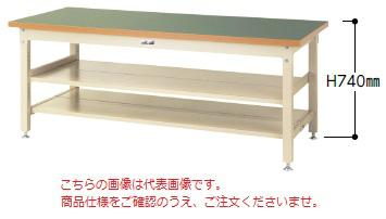 【直送品】 山金工業 ワークテーブル SSR-1275TTS2-GG 【法人向け、個人宅配送不可】 【大型】