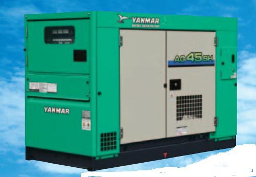 当社の 【ポイント5倍】 【直送品】 ヤンマー (YANMAR) 超低騒音形ディーゼル発電機 AG45SH-F (AG45SH-F-60hz) オイルフェンス仕様 【大型】, STUDIO STEEL 4383329b