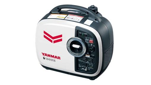 手軽に持ち運べる携帯性と1.6kVAの高出力を両立。  【直送品】 ヤンマー (YANMAR) インバータータイプ発電機 G1600iS(2) 防音タイプ