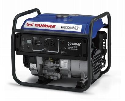 【直送品】 ヤンマー ガソリン発電機 G2300AY-5 オープンタイプ 【大型】