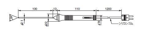 横河計測 TC-K温度プローブ 90024B
