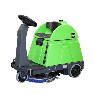 【代引不可】 蔵王産業 ワンブラシ式 自動床洗浄機 スクラブメイト クレバー500RB (1930001) 【特大・送料別】