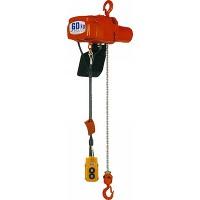 【直送品】 象印 懸垂式小型電気チェーンブロック αHB-01 揚程6m (AHB-K1060) (100kg 二速型)