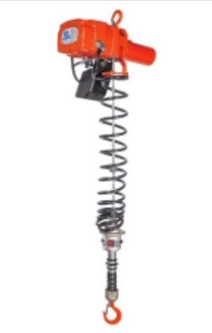 【直送品】 象印 小型電気チェーンブロック αHWL-01 (AHWL-01) (100kg 揚程2.1m 2速選択型)