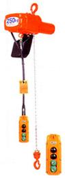 【直送品】 象印 懸垂式小型電気チェーンブロック αSW-05 揚程3m (ASW-00530) (500kg 二速選択型)