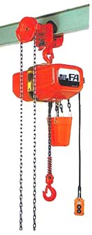 【直送品】 象印 FAIIIG型ギヤードトロリ結合式電気チェーンブロック FAIIIG-0.9 揚程6m (FA3G-00960) (0.9t)