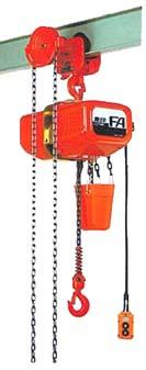 【直送品】 象印 FAG型ギヤードトロリ結合式電気チェーンブロック FAG-0.5 揚程6m (FAG-00560) (0.5t)