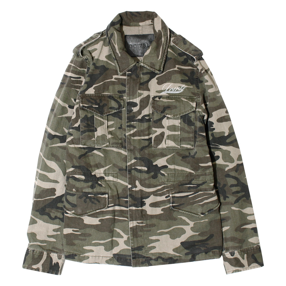 DOWBL/ダブル/Graphic Military Jacket【全2色】