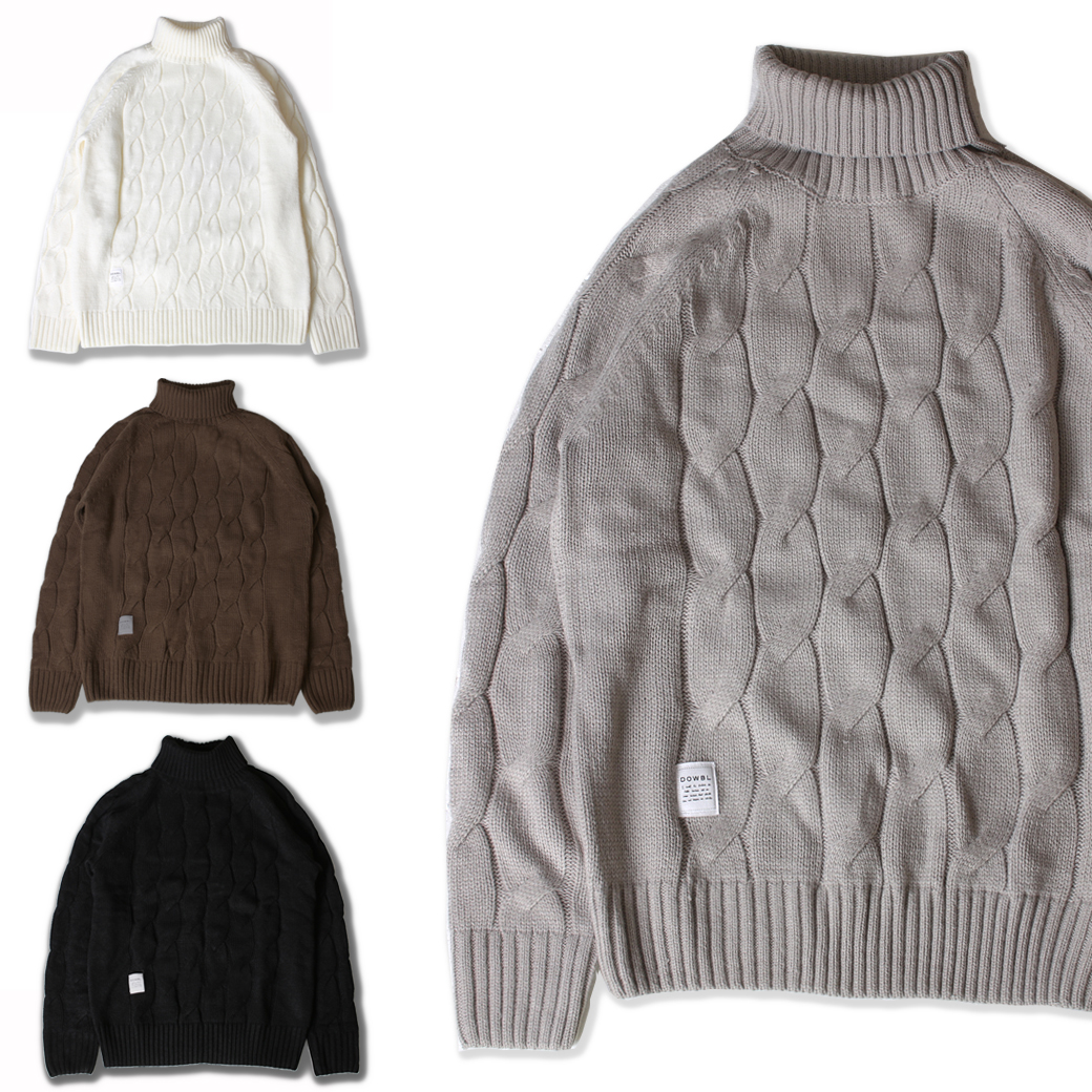 Gentlemanly Cable Knit