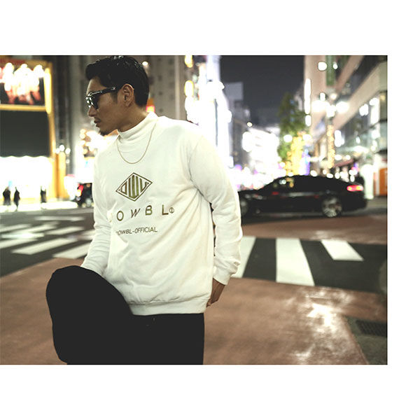 DOWBL/ ダブル/ Gold Symbolizes Sweat Shirts 【全1色】
