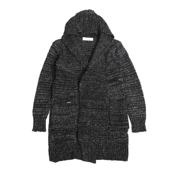 DOWBL/ ダブル/ Heather Knit Hooded Gown 【全1色】