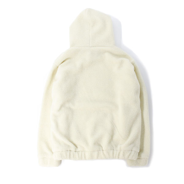 DOWBL/ ダブル/ Kiss Icon Attractive Boa Hoodie 【全1色】