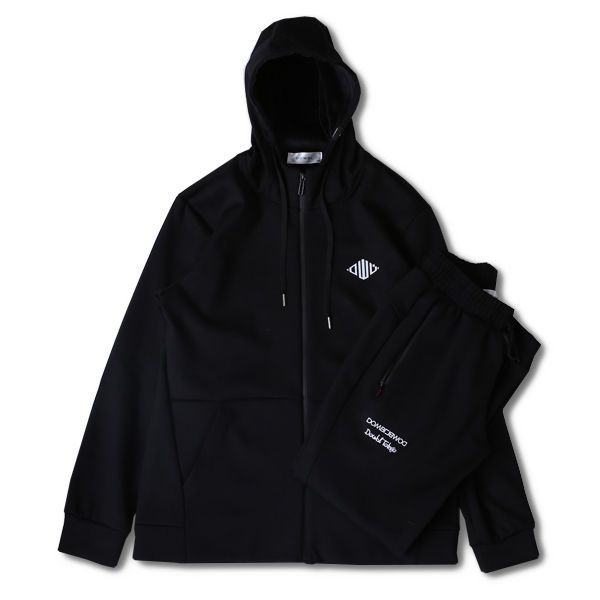 DOWBL/ ダブル/ Insane Rhombus Hooded Setup 【全1色】